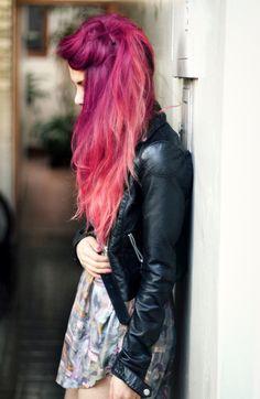luanna perez pink hair - Google Search
