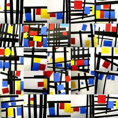 Kunst ideen i have done many different piet mondrian inspired art activities but this one artideas art – Artofit Piet Mondrian, Mondrian Kunst, Kindergarten Art, Preschool Art, Classe D'art, First Grade Art, Ecole Art, Art Lessons Elementary, Elementary Teaching