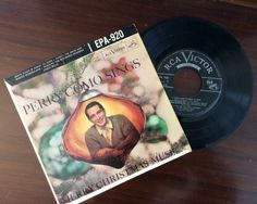 vintage Christmas Tunes ... PERRY COMO sings by ThriftyDiversions