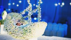 Naming Ceremony Decoration, Ceremony Decorations, Birthday Decorations, Baby Shower Decorations, Paper Decorations, Flower Decorations, Cradle Ceremony, Sand Ceremony, Cradle Decoration