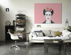 Guys this is Frida Kahlo print is only $53. GO.