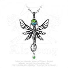 The Green Goddess Pendants