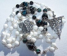 Rosary Of Our Lady Of Fatima- Solid Silver