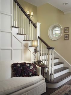 just like my stairway.  I like the furniture at the bottom of it
