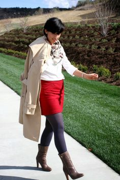 Rocks Fashion Bug: A Day for a Trench Coat #trenchcoat #mystyle #fashion #inspiration #whatiwore #style