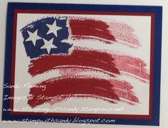 Stamp with Sandy: Work Of Art flag