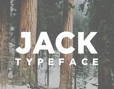 JACK is all caps display typeface, built with modern and bold glyph. This new version has improved glyph shapes, making it ideal for Illustrations, logos and other typographic work. Download here https://sellfy.com/p/mLCx/Featured In creativeblog's 'F…