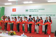 New CC Construction Consultants Co., Ltd.    Opening Ceremony for Midori Footwear Safety Viet Nam