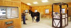 Horse barn with gambrel roof | Carmel, Indiana | FBi Buildings