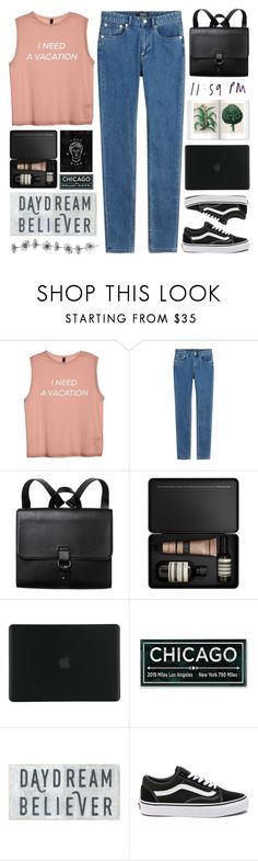 """#641 Egress"" by mia5056 ❤ liked on Polyvore featuring A.P.C., Monki, Aesop, Tucano and Vans"