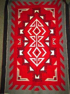 Found on EstateSales.NET: Navajo Rug
