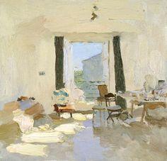 'Studio' by Bato Dugarzhapov. Oil on canvas.