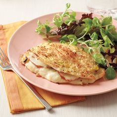 We've taken a traditional dish and given it a healthier spin by using the broiler instead of a frying pan. The result has plenty of flavor with less fat.