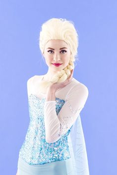 Unleash Your Frozen Fever by Wearing This Anna and Elsa BFF Costume for Halloween  sc 1 st  Pinterest & Unleash Your Frozen Fever by Wearing This Anna and Elsa BFF Costume ...