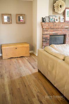 DIY Low Budget Hardwood Floors  Monocoat Natural Oil Finish, Utility Oak  From Lumber Liquidators
