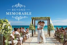Throw a destination wedding beyond all expectations! Treat your guests to 4 private wedding events. Learn more about what's included with the Beyond Memorable wedding package from Dreams Resorts. Destination Wedding Checklist, All Inclusive Destination Weddings, Destination Wedding Decor, All Inclusive Wedding Packages, Destination Wedding Inspiration, Wedding Planning Checklist, Wedding Destinations, Beach Weddings, Dreams Resorts
