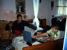 Leon, Davy e Pablo....2004