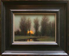 Kevin Courter - Plein Air Artist - Ablaze 6 x 10
