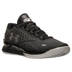 quality design 1b9ec 79b44 UA Curry 1 Low Black or Silver at Eastbay  http   bit.