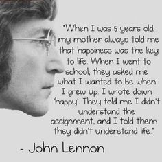 Top 100 john lennon quotes photos #johnlennonquotes #beatles #rockquotes4you #rocknroll See more http://wumann.com/top-100-john-lennon-quotes-photos/