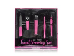 My Beauty Spot S 6 Piece Mini Travel Kit The Set Includes Finger And Toe Clipper