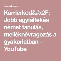 Karrierkod/ Jobb agyféltekés német tanulás, melléknévragozás a gyakorlatban - YouTube