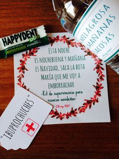 Kit antiresaca Monopoly, Wedding Styles, Ideas, Christmas Eve, Xmas, Emergency Survival Kit, Chewing Gum, Gift, Thoughts