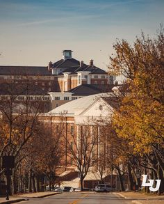 The Liberty University campus looks beautiful and quiet during Thanksgiving break.