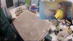 Глиняная авторская штукатурка. Альтернатива керамической плитке