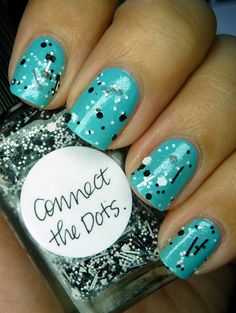 Fun :) if I attempted this it would be more like one dot lol