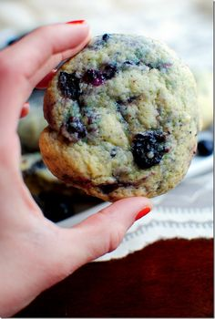 blueberry muffin top cookies, omg, yummy!!