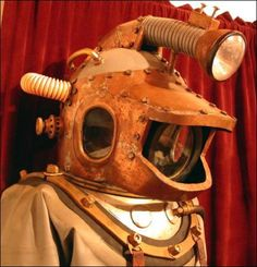 Diving Helmet from 2,000 Leagues Under The Sea http://www.deepbluediving.org/best-dive-computer-under-500/