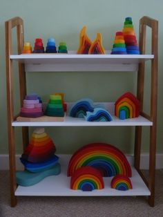 Steiner Waldorf Toys at home.