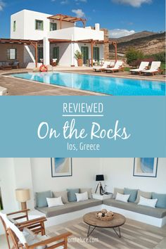 Travel Inspiration for Greece - On the Rocks villa in Ios, reviewed – On the Luce travel blog