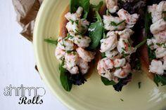 Loves Food, Loves to Eat: Summery Shrimp Rolls