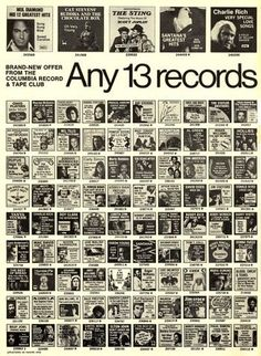 1000 images about 1970 39 s pop culture on pinterest for Classic house records