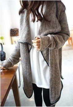 Grey Jardic Cardigan....I need this!