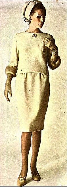 1965 Christian Dior.Vogue,September