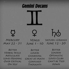 Gemini Decans JUNE 12