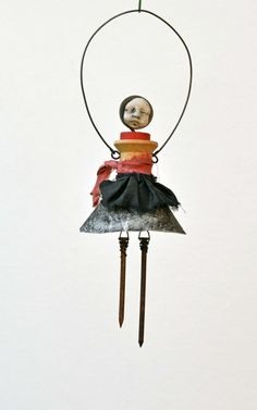 Altered Art Dolls - I want to give this a try! from Indiandollartworks on Etsy