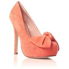 Peach minnie high heel shoes - Miss KG