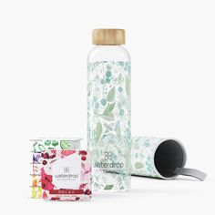 Taster Pack with bottle Biotin, Vitamin E, Flavored Water Bottle, Plastic Bottles, Glass Bottles, Friends Phone Case, Fruit Water, Nutritional Value, Dibujo