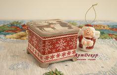 Картинки по запросу новогодние шкатулки