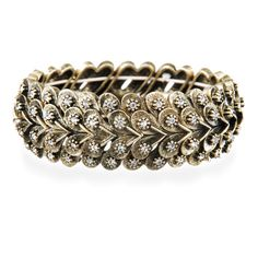 Modern Deco Stretch Bracelet http://www.chloeandisabel.com/boutique/jamielove