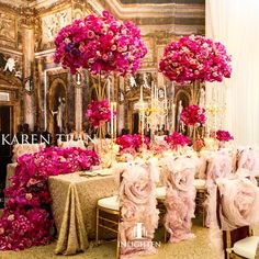 SignatureWeddings @signatureweddings Pink opulence by ...Instagram photo | Websta (Webstagram)