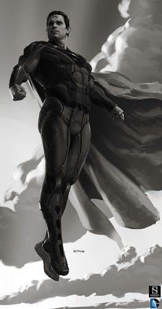 Superman by dustsplat.deviantart.com on @DeviantArt
