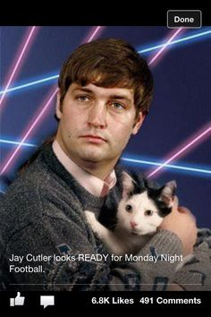 Jay Cutler is totally ready for MNF