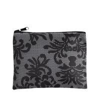 Beautiful and stylish zippered cosmetic pouch. Imprint your logo or brand and leave a fabulous impression at your next promo event #FemmePromo #Privatelabelcosmeticbags #Promotionalcosmeticbags
