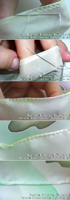 It is easy to hem! - Master class // Annet Delis
