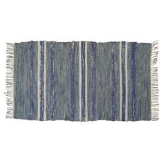 """Check out this item at One Kings Lane! Swedish Rag Rug, 4'5"""" x 2'4"""""""